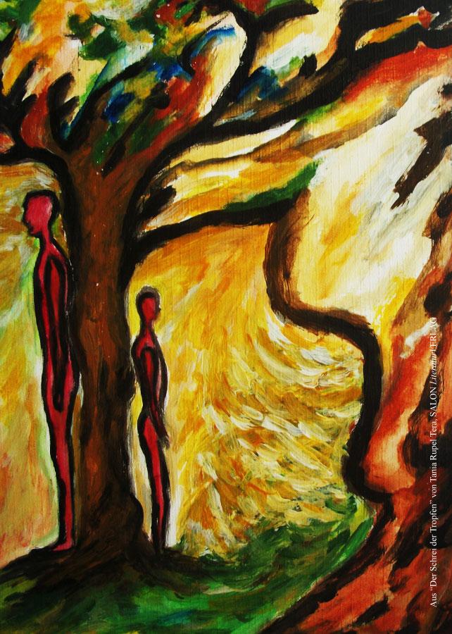Tania Rupel Tera – Postkarte Bildmotiv Baum